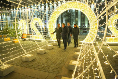Вадим Кстенин провел совещание на площади Ленина