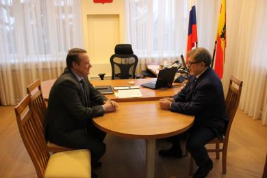 Депутат Госдумы и руководитель управы Левобережного района обсудили фронт работ