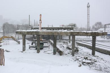 В Воронеже снесли второй пролёт виадука на ул. 9 Января