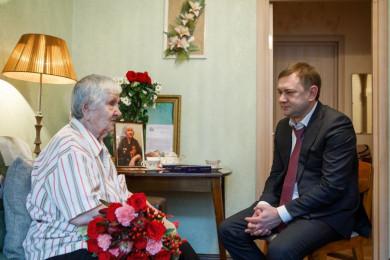 102-летний ветеран рассказала, каким был Воронеж после отступления фашистов