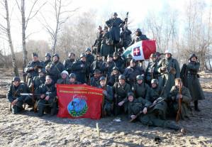 В реконструкции освобождения Воронежа поучаствовали 300 человек из 23 городов