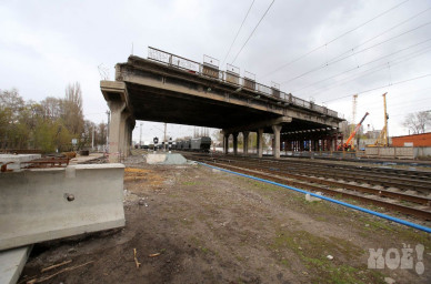 Властипланируют закончить реконструкцию виадука на ул. 9 Января раньше срока