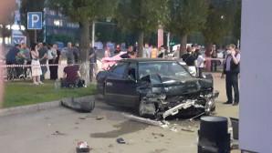 Очевидцы рассказали подробности страшной аварии на Ленинском проспекте