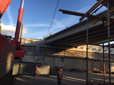 Власти рассказали, как продвигается реконструкция виадука на 9 Января